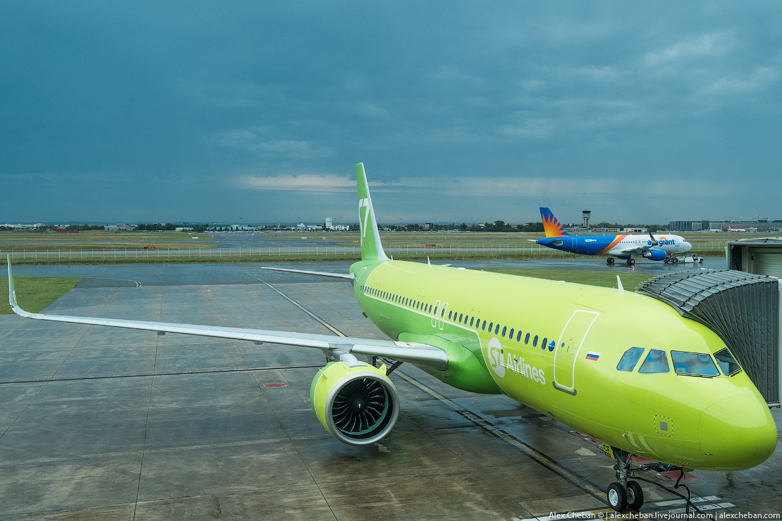 Первый Airbus A320neo в России. Фото: http://alexcheban.livejournal.com/