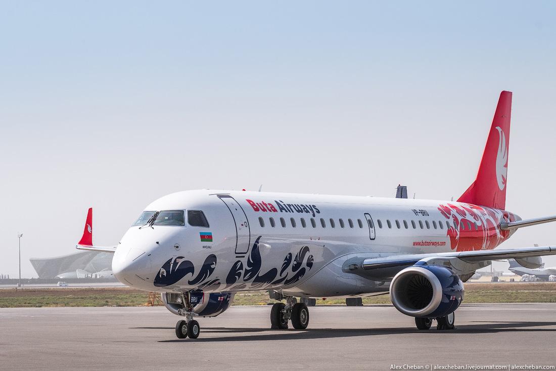 НОВЫЙ ЛОУКОСТ BUTA AIRWAYS: В БАКУ ЗА 29 ЕВРО!