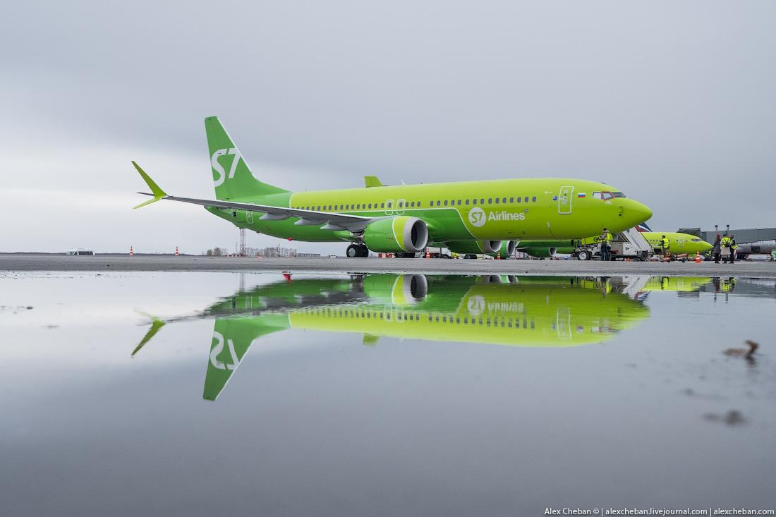ПЕРВЫЙ БОИНГ 737 MAX S7 Airlines: ВСЕ ПОДРОБНОСТИ И ПЕРВЫЙ РЕЙС