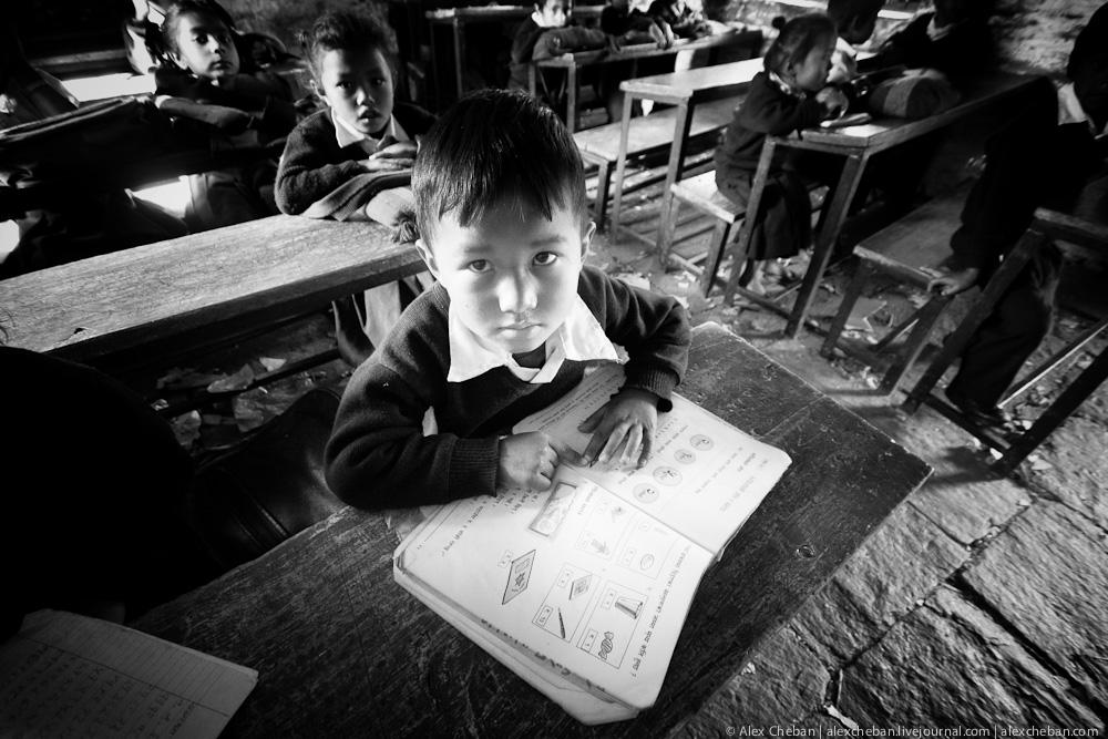 Непальский мальчик. Непал. Фото. Достопримечательности.
