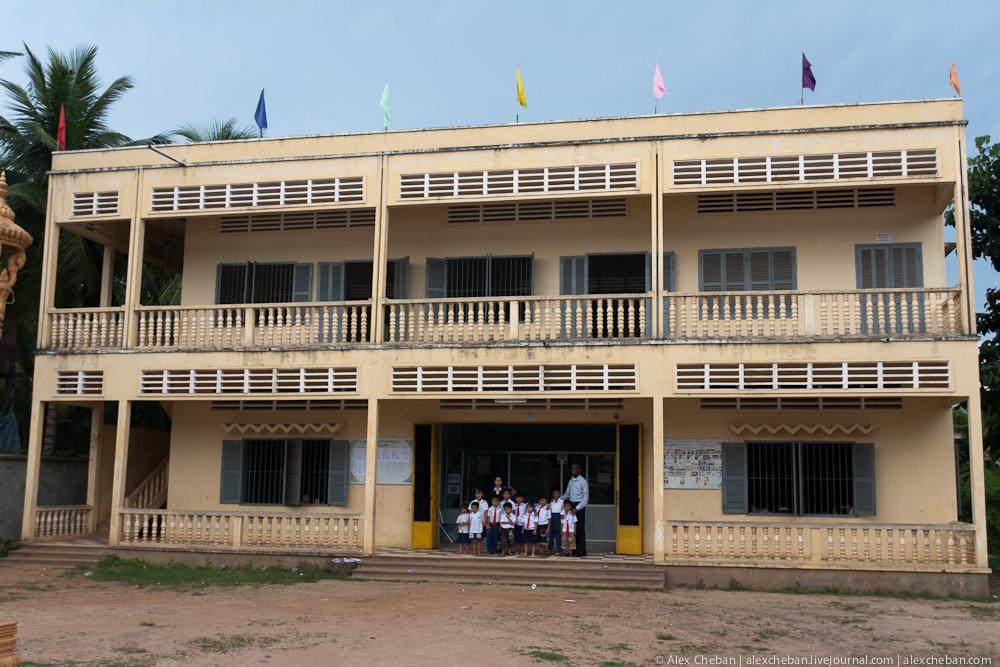 Камбоджийский класс. (Фотографии. Камбоджа.)