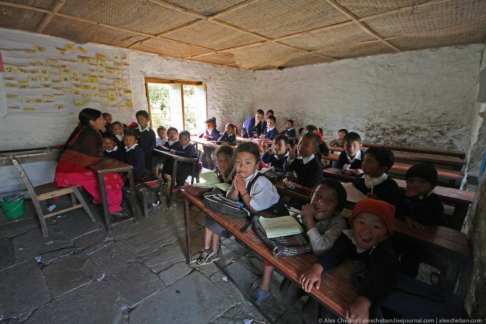 Непальский класс. Фотографии Непала.